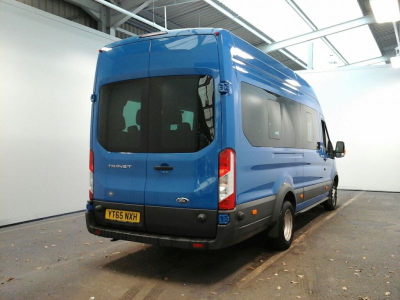 FORD TRANSIT 460 TDCI 125 L4 H3 TREND 17 SEAT BUS HIGH ROOF DRW RWD - 8682 - 2