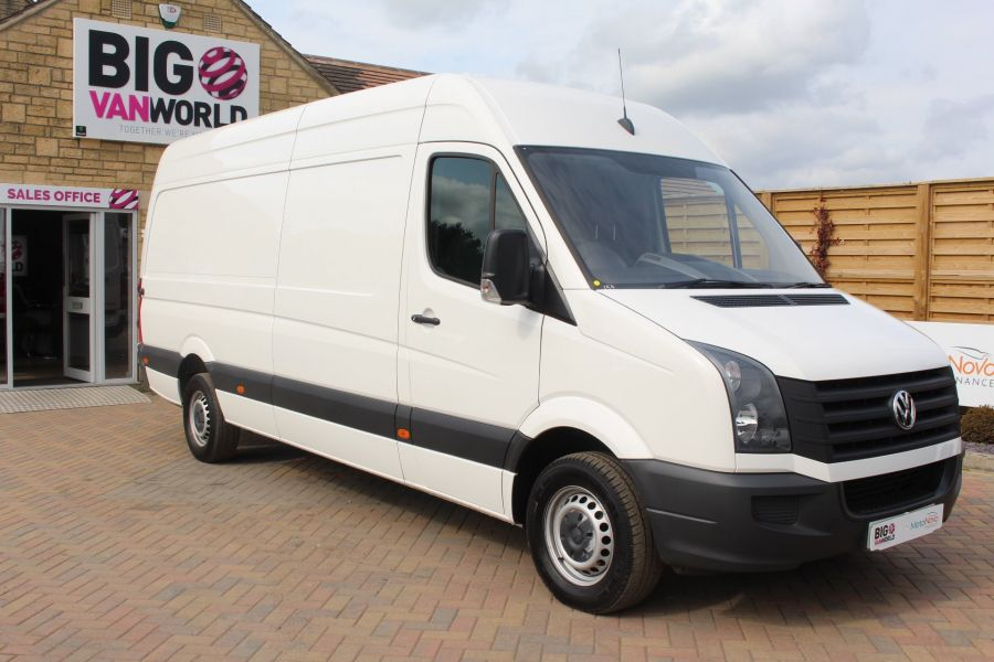 VOLKSWAGEN CRAFTER CR35 TDI 140 BMT LWB HIGH ROOF - 6739 - 2