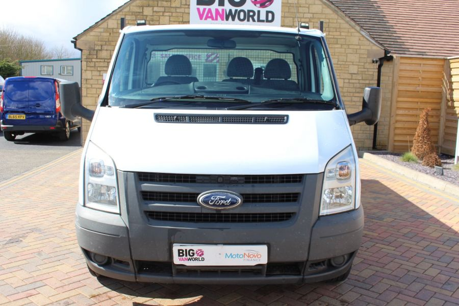FORD TRANSIT 350 TDCI 100 MWB SINGLE CAB ALLOY TIPPER - 7589 - 16