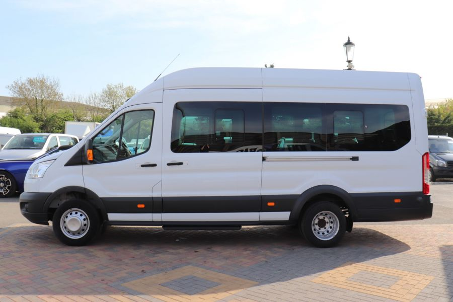 FORD TRANSIT 460 TDCI 125 L4H3 TREND 17 SEAT BUS HIGH ROOF DRW RWD - 10326 - 9