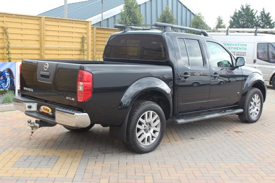 NISSAN NAVARA OUTLAW 3.0 DCI 231 4X4 DOUBLE CAB - 4546 - 4