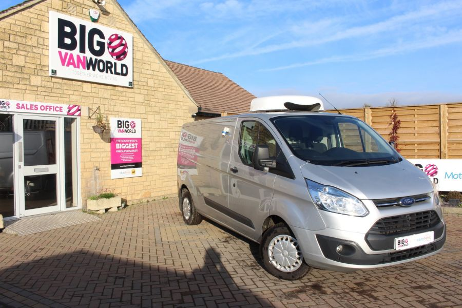 FORD TRANSIT CUSTOM 290 TDCI 100 L2 H1 TREND LWB LOW ROOF FRIDGE WITH OVERNIGHT - 6896 - 1