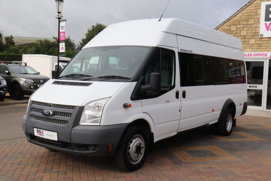 FORD TRANSIT 430 TDCI 135 EL LWB 17 SEAT BUS WITH WHEELCHAIR ACCESS HIGH ROOF DRW RWD - 9665 - 9
