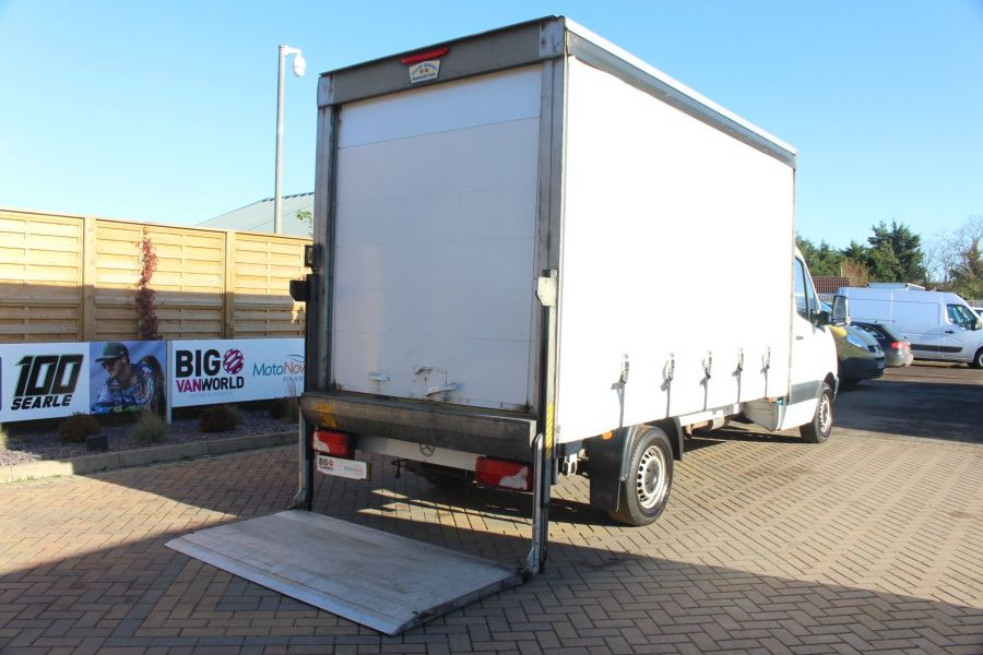 MERCEDES SPRINTER 313 CDI LWB CURTAIN SIDE BOX WITH TAIL LIFT - 6946 - 18
