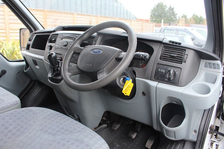 FORD TRANSIT 350 TDCI 100 LWB HIGH ROOF RWD - 9107 - 11