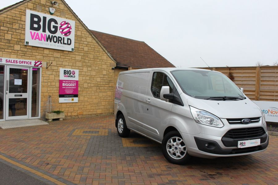 FORD TRANSIT CUSTOM 270 TDCI 155 LIMITED L1 H1 SWB LOW ROOF FWD - 8552 - 2