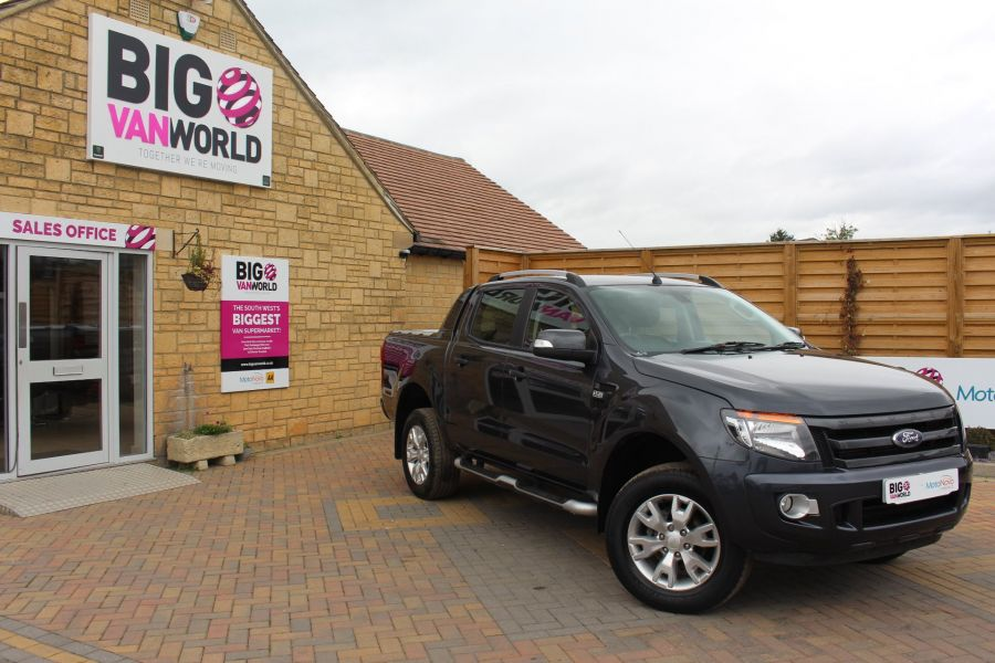 FORD RANGER WILDTRAK 4X4 TDCI 197 BHP DOUBLE CAB WITH MOUNTAIN TOP - 6601 - 1