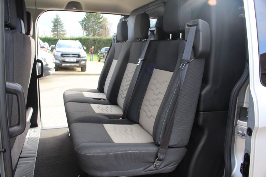 FORD TRANSIT CUSTOM 290 TDCI 170 L1 H1 LIMITED DOUBLE CAB 6 SEAT CREW VAN SWB LOW ROOF FWD  - 8973 - 21