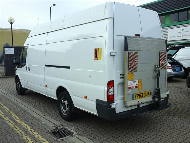 FORD TRANSIT 350 TDCI 125 JUMBO LWB HIGH ROOF RWD - 7041 - 3