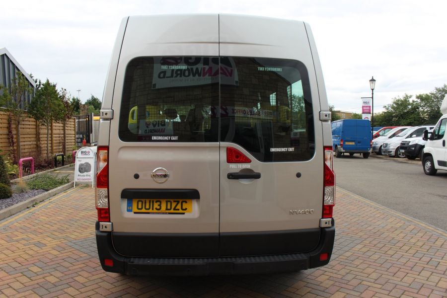 NISSAN NV400 F35 DCI 125 L3 H2 SE LWB MEDIUM ROOF 13 SEAT BUS - 6485 - 6