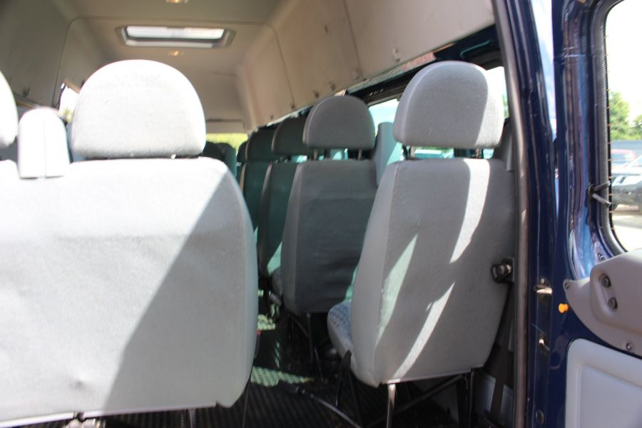 FORD TRANSIT 430 TDCI 135 LWB HIGH ROOF 17 SEATS BUS - 6332 - 28