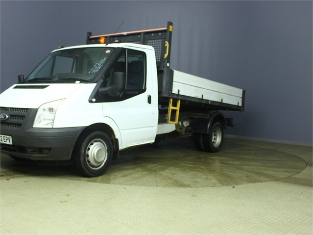 FORD TRANSIT 350 TDCI 100 MWB 'ONE STOP' ALLOY TIPPER DRW RWD - 6985 - 5