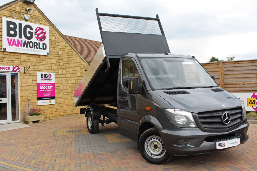 MERCEDES SPRINTER 313 CDI 129 MWB SINGLE CAB NEW BUILD ALLOY TIPPER - 9592 - 1
