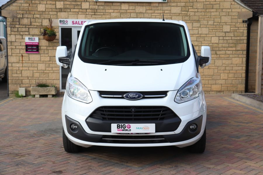 FORD TRANSIT CUSTOM 310 TDCI 130 L1H1 LIMITED DOUBLE CAB 6 SEAT CREW VAN SWB LOW ROOF FWD - 9964 - 10