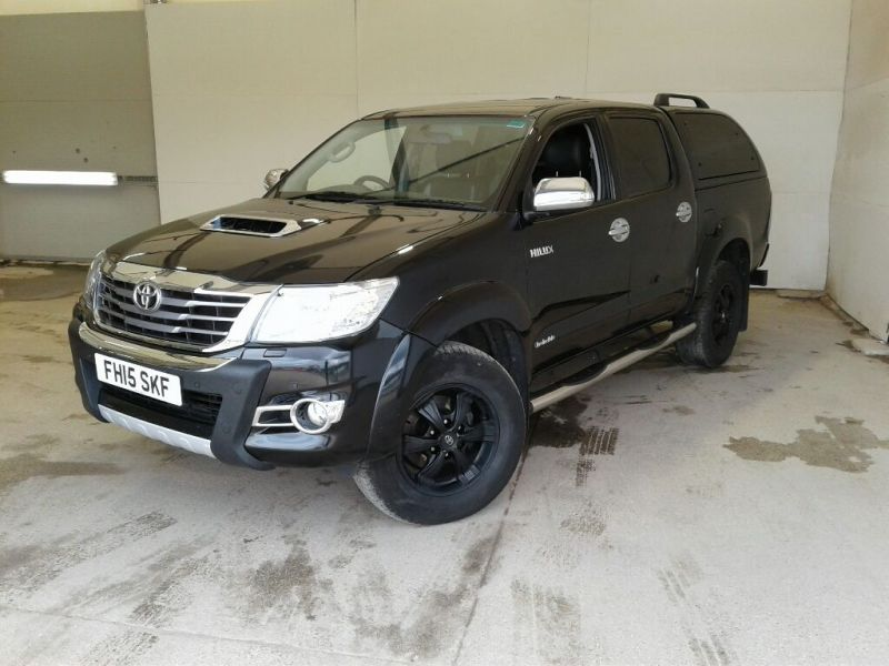TOYOTA HI-LUX INVINCIBLE X 4X4 D-4D 171 DOUBLE CAB WITH TRUCKMAN TOP - 9873 - 1
