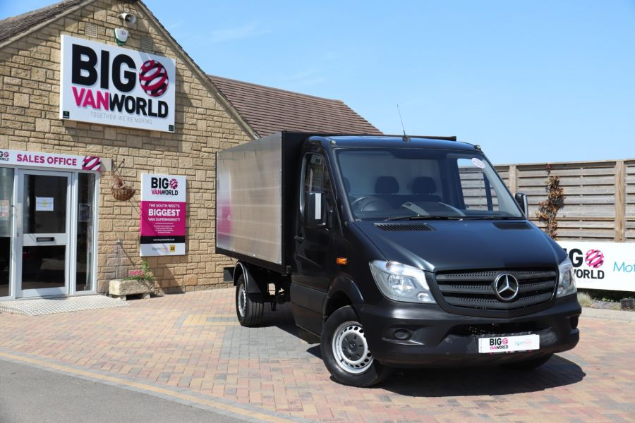 MERCEDES SPRINTER 313 CDI 129 SINGLE CAB NEW BUILD HIGH SIDED ALLOY TIPPER - 9672 - 12