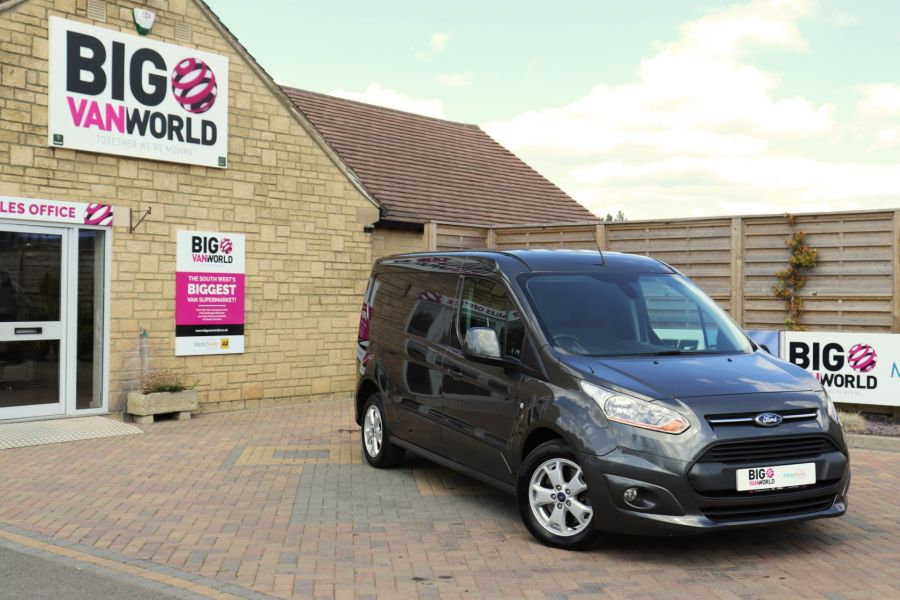 FORD TRANSIT CONNECT 240 TDCI 115 L2H1 LIMITED LWB LOW ROOF - 9745 - 1