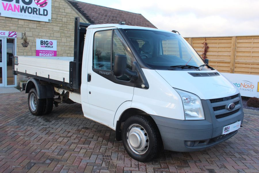 FORD TRANSIT 350 TDCI 100 MWB 'ONE STOP' ALLOY TIPPER DRW RWD - 6726 - 12