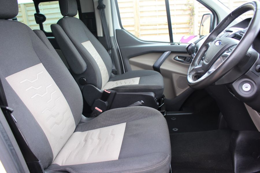 FORD TRANSIT CUSTOM 310 TDCI 170 L1 H1 LIMITED DOUBLE CAB 5 SEAT CREW VAN SWB LOW ROOF - 9234 - 13