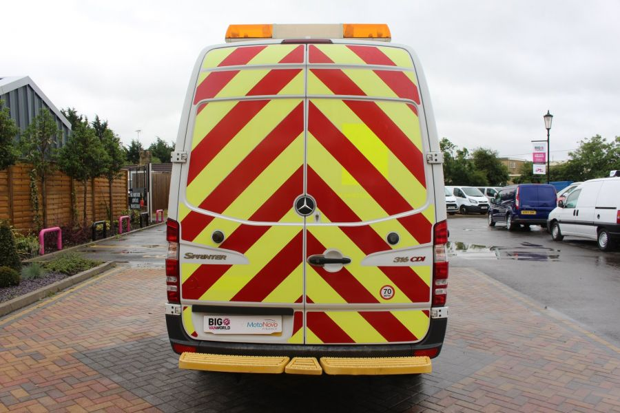 MERCEDES SPRINTER 316 CDI MWB HIGH ROOF - 6253 - 6