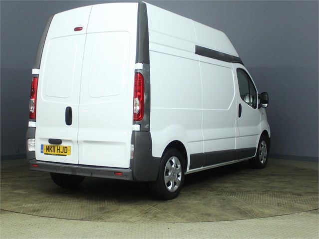 RENAULT TRAFIC LH29 DCI 115 LWB HIGH ROOF - 7202 - 2