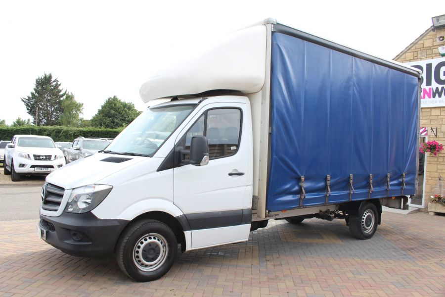 MERCEDES SPRINTER 313 CDI 129 LWB CURTAINSIDER - 7969 - 7