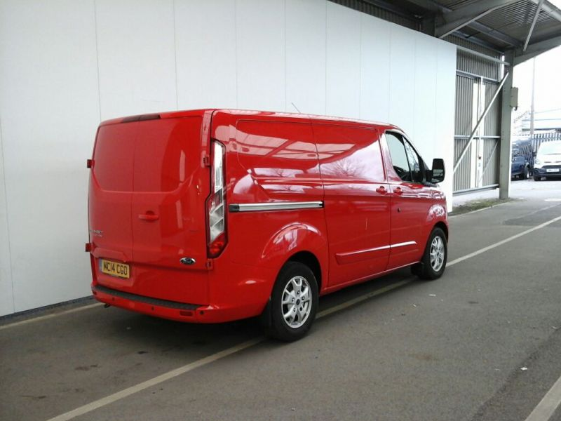 FORD TRANSIT CUSTOM 290 TDCI 125 L1 H1 LIMITED SWB LOW ROOF FWD - 8846 - 2