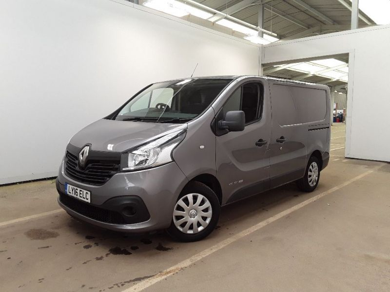 RENAULT TRAFIC SL27 DCI 120 BUSINESS PLUS ENERGY SWB LOW ROOF - 11483 - 1