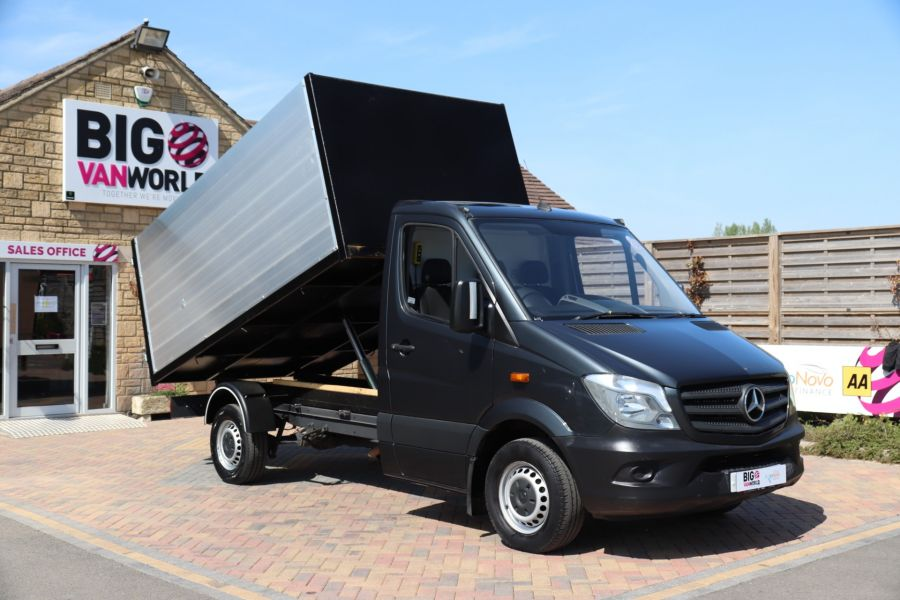 MERCEDES SPRINTER 313 CDI 129 SINGLE CAB NEW BUILD HIGH SIDED ALLOY TIPPER - 9672 - 3