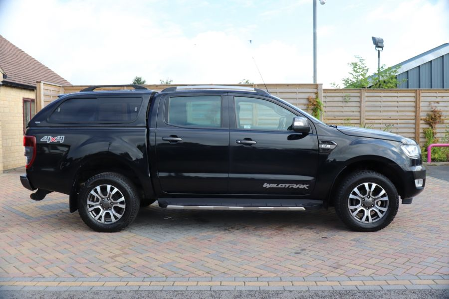 FORD RANGER WILDTRAK TDCI 200 4X4 DOUBLE CAB WITH TRUCKMAN TOP - 9555 - 4