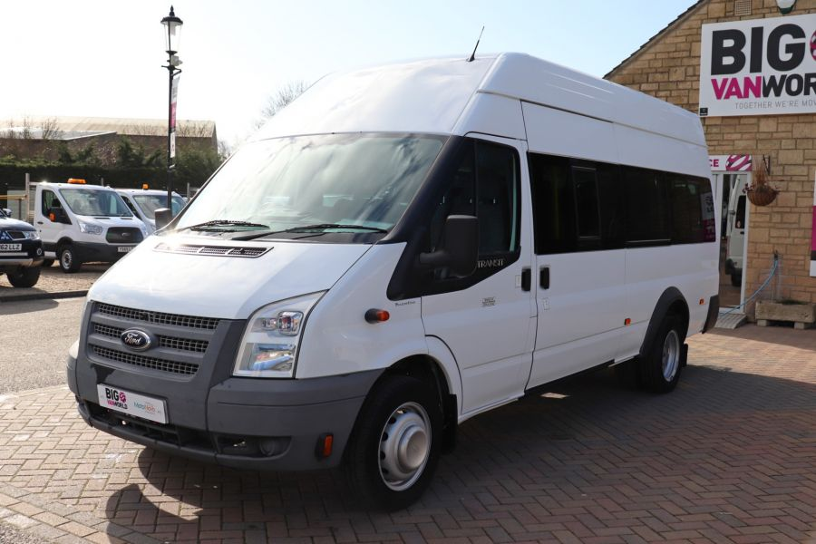 FORD TRANSIT 430 TDCI 135 EL LWB 17 SEAT BUS HIGH ROOF WITH WHEELCHAIR ACCESS RAMP DRW RWD - 10401 - 10