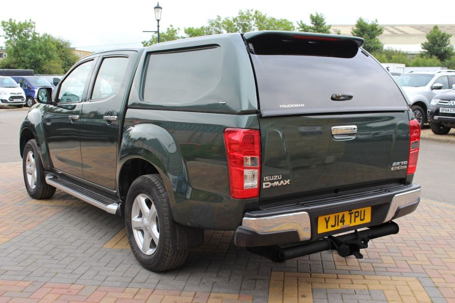 ISUZU D-MAX TD 163 YUKON VISION DOUBLE CAB WITH TRUCKMAN TOP - 9450 - 7