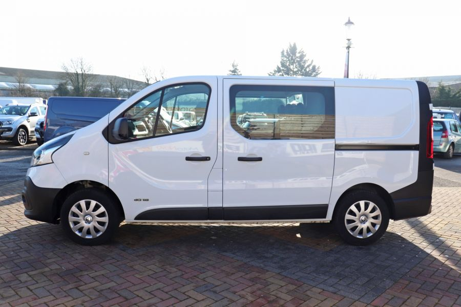 RENAULT TRAFIC SL27 DCI 115 BUSINESS SWB DOUBLE CAB 6 SEAT CREW VAN LOW ROOF  - 10282 - 8