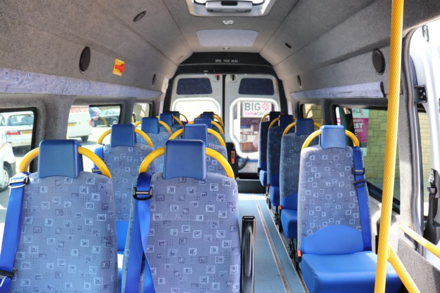 MERCEDES SPRINTER 513 CDI 129 XLWB EXTRA HIGH ROOF 15 SEAT BUS WITH WHEELCHAIR ACCESS - 9801 - 32
