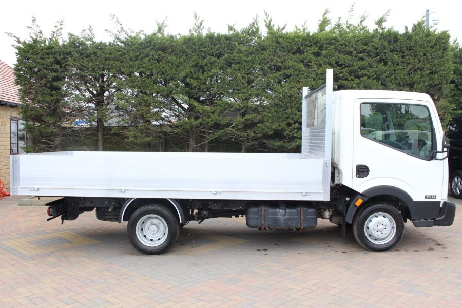 NISSAN CABSTAR 35.14 SINGLE CAB 13FT ALLOY DROPSIDE - 5991 - 2