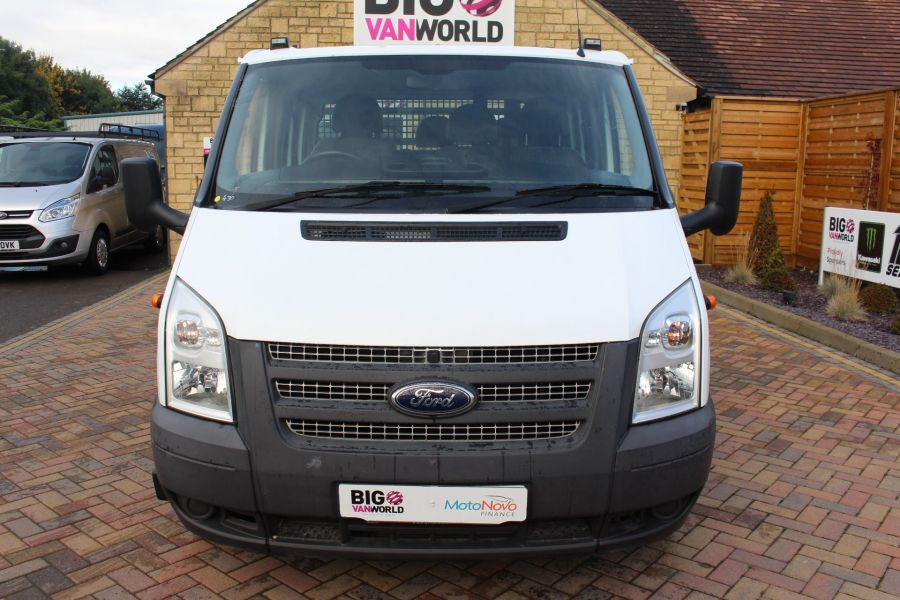 FORD TRANSIT 350 TDCI 125 LWB DOUBLE CAB 'ONE STOP' ALLOY DROPSIDE DRW RWD - 6761 - 9