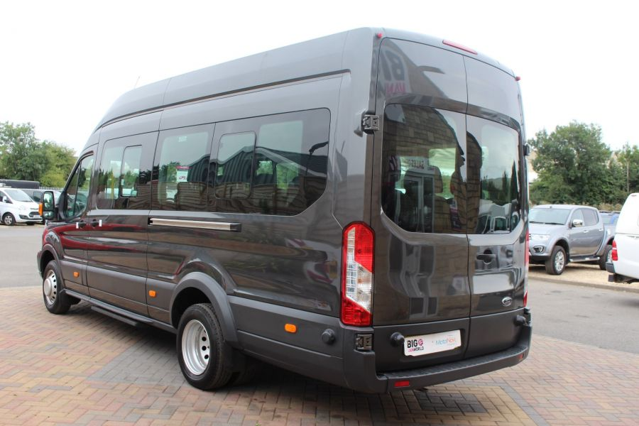 FORD TRANSIT 460 TDCI 155 L4 H3 17 SEAT BUS HIGH ROOF DRW RWD - 8132 - 7
