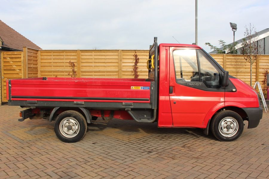 FORD TRANSIT 300 TDCI 110 SWB ALLOY DROPSIDE - 7031 - 4