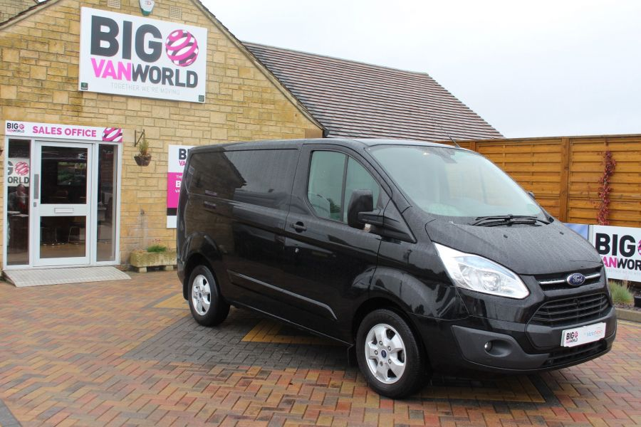 FORD TRANSIT CUSTOM 270 TDCI 125 L1 H1 LIMITED SWB LOW ROOF FWD - 7611 - 3