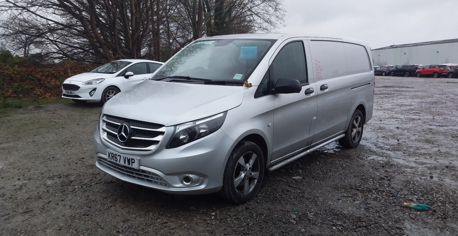 MERCEDES VITO 116 CDI 163 BLUETEC SPORT LWB LOW ROOF - 11937 - 5