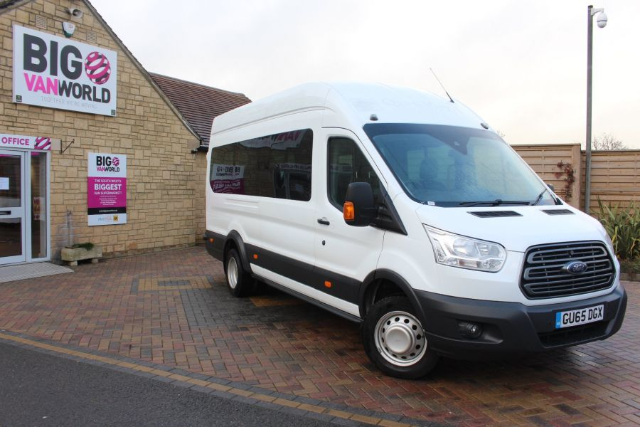FORD TRANSIT 460 TDCI 125 TREND L4 H3 HIGH ROOF 17 SEAT BUS - 8551 - 2