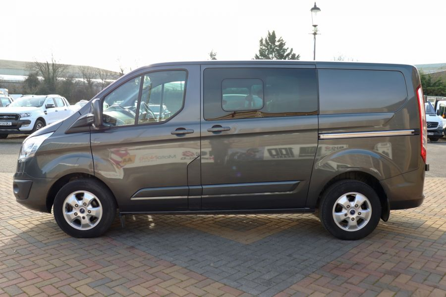 FORD TRANSIT CUSTOM 290 TDCI 130 L1H1 LIMITED DOUBLE CAB 6 SEAT CREW VAN SWB LOW ROOF - 10123 - 8