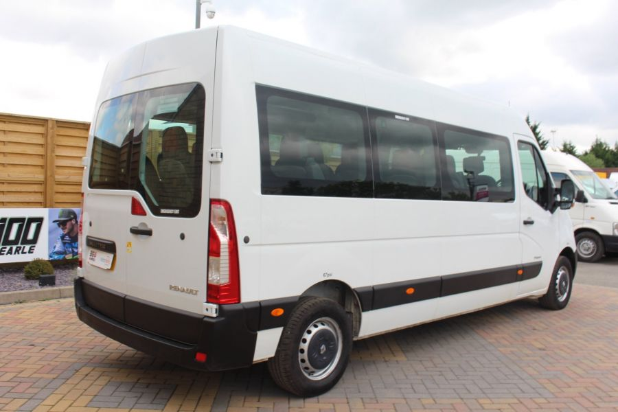 RENAULT MASTER LM39 DCI 125 COACH BUILT 17 SEAT BUS LWB MEDIUM ROOF - 5842 - 5