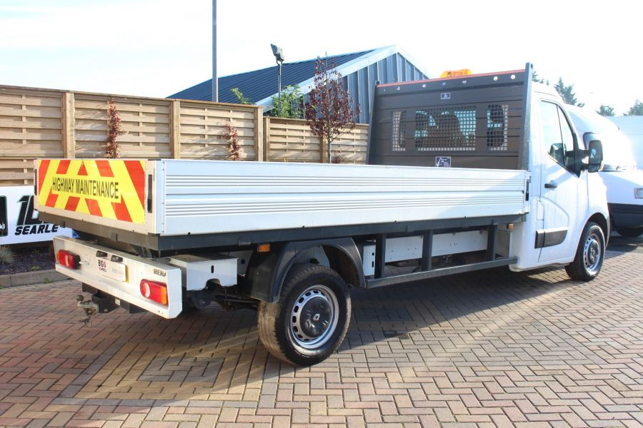 RENAULT MASTER LL35 DCI 125 BUSINESS LWB ALLOY DROPSIDE - 6657 - 5