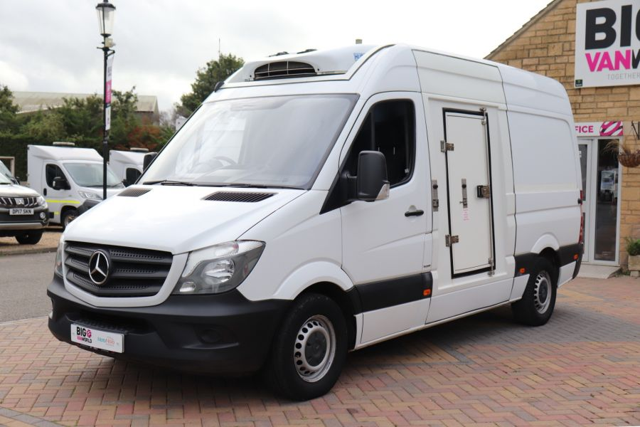 MERCEDES SPRINTER 314 CDI 140 MWB HIGH ROOF FRIDGE/FREEZER VAN - 11283 - 9