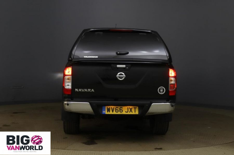 NISSAN NAVARA DCI 190 TEKNA 4X4 DOUBLE CAB WITH TRUCKMAN TOP - 11076 - 4
