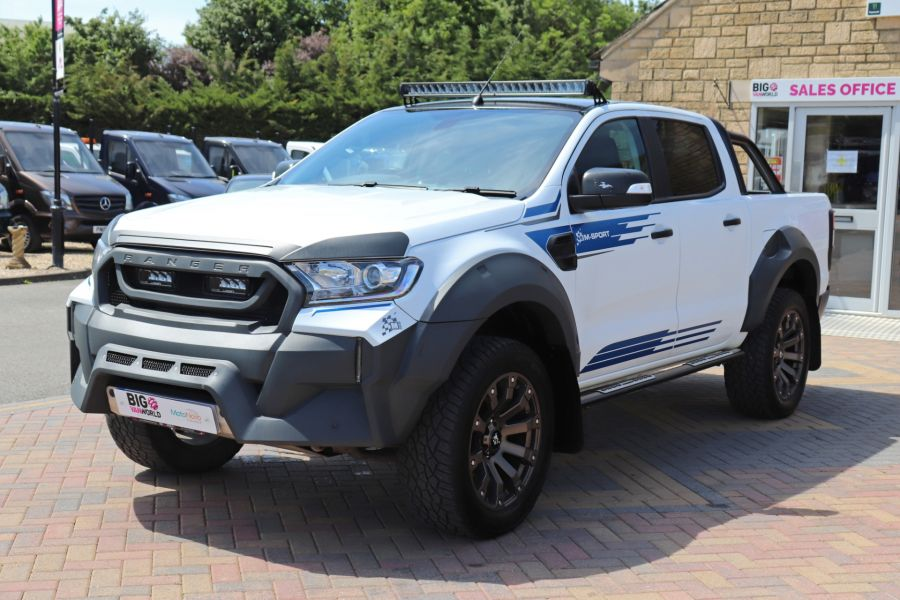 FORD RANGER TDCI 200 M SPORT 4X4 DOUBLE CAB  - 10739 - 10