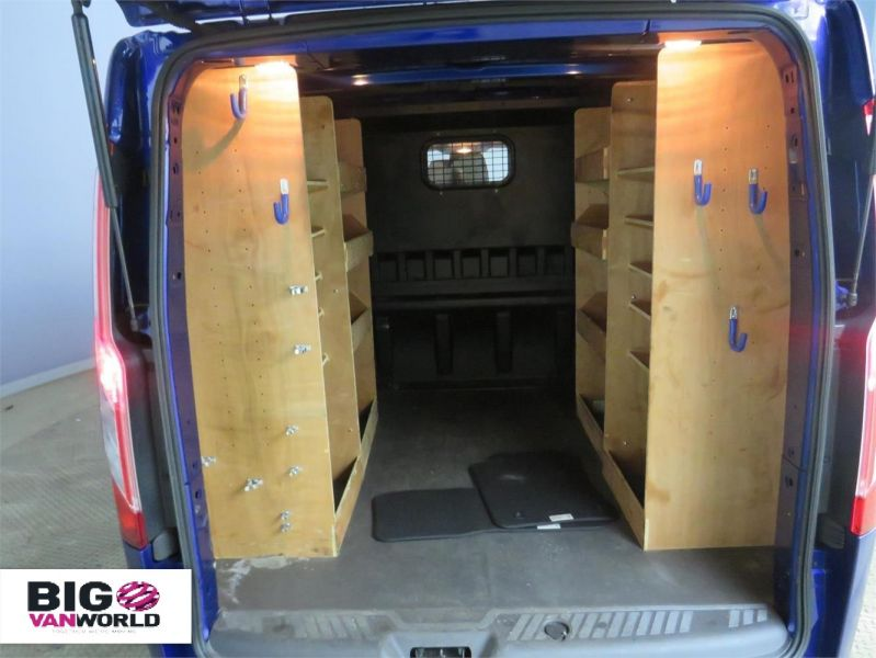 FORD TRANSIT CUSTOM 310 TDCI 170 L2H1 LIMITED DOUBLE CAB 6 SEAT CREW VAN LWB LOW ROOF - 10114 - 7