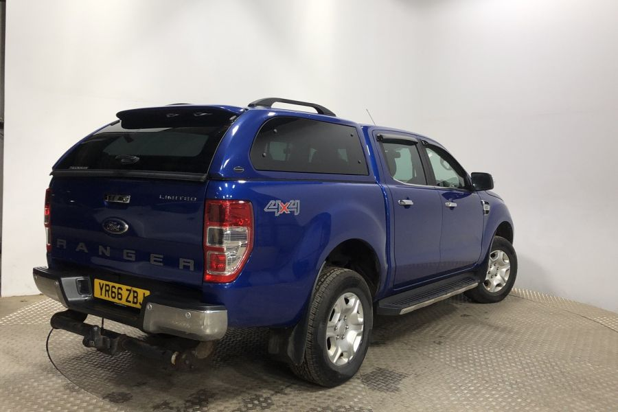 FORD RANGER TDCI 160 LIMITED 4X4 DOUBLE CAB WITH TRUCKMAN TOP - 12030 - 3