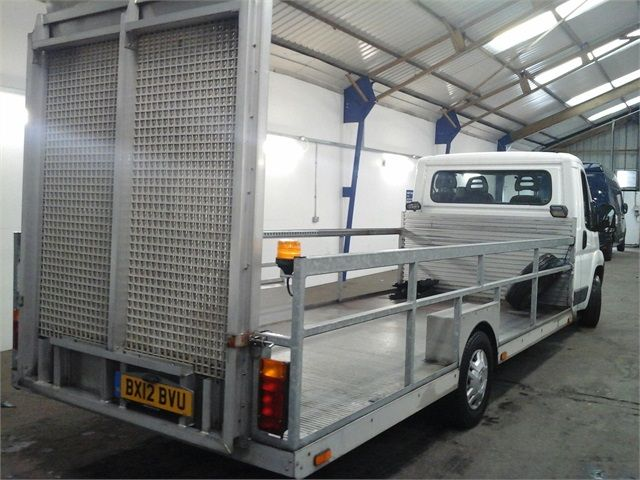 CITROEN RELAY 35 HDI 120 L3 PLATFORM CAB WITH REAR LOADING RAMP - 7292 - 2